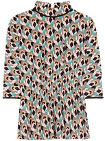 Prada Printed Silk Top