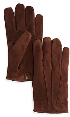 The Men's Store at Bloomingdale's Three-Cord Suede Gloves - 100% Exclusive