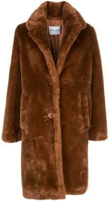 Stand Studio Lisen Smooth Oversized Faux Fur Coat