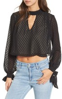 Wildfox Couture Women's Little Black Boots Fil Coupe Blouse