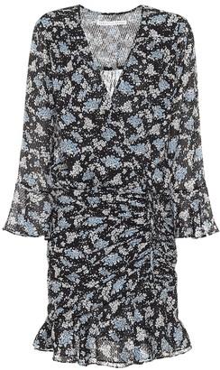 Veronica Beard Sean floral jacquard silk minidress