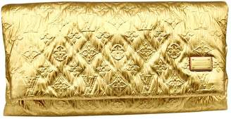 Louis Vuitton Limelight Gold Leather Clutch bags
