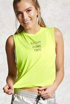 Forever 21 Active Graphic Tank Top