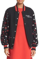Opening Ceremony Women's Embroidered Varsity Jacket