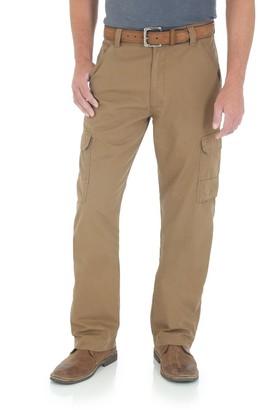 Wrangler Men's Twill Ripstop Cargo Pants