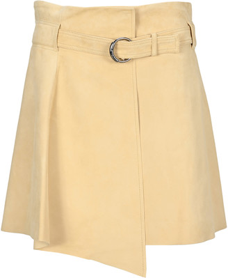 Chloé Suede Leather Mini Skirt