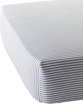 Serena & Lily Ticking Stripe Crib Sheet