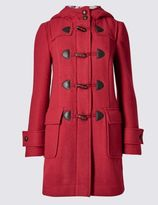 Marks and Spencer Duffle Hooded Coat