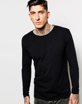 Minimum T-shirt With Long Sleeves - Black