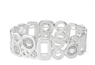 Dana Buchman Abstract Circle Stretch Bracelet