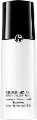 Giorgio Armani Crema Nera Extrema Essential Defense Fluid Sunscreen SPF 14