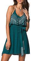O'Neill Valerie Embroidered Halter Neck A-Line Dress