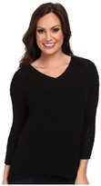 Lucky Brand Solid Sweater Tunic