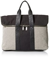 Splendid Cape May Mixed Canvas Satchel Top Handle Bag