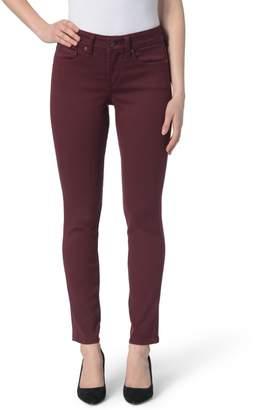 NYDJ Ami High Waist Colored Stretch Skinny Jeans (Petite)