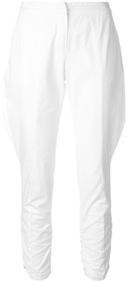 Giorgio Armani Pre Owned Baggy Detail Cropped Trousers
