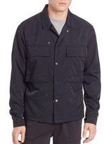 Vince Nylon Twill Shirt Jacket