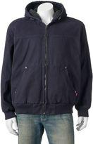 Levi's Men's Sherpa-Lined Canvas Bomber Jacket