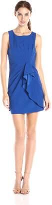 Ark & Co Women's Solid Pleat Detail Dress