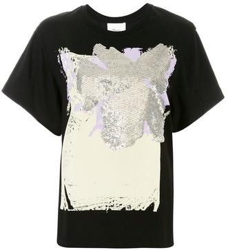 3.1 Phillip Lim sequin embellished T-shirt