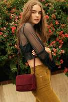 Urban Outfitters Margot Suede Crossbody Bag