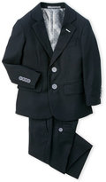 Isaac Mizrahi Toddler Boys) Two-Piece Black Suit