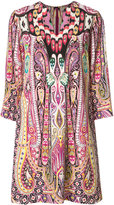 Etro allover abstract print dress