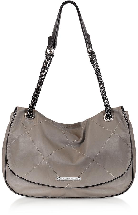Roccobarocco Marilyn - BlackTrim Shoulder Bag