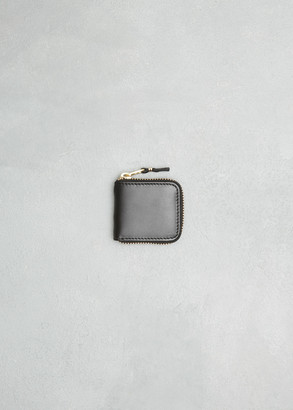 Comme des Garcons Classic Leather Line Coin Purse in Black