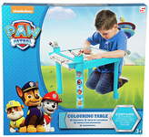 Nickelodeon Paw Patrol Colouring Table