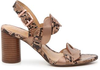 Crown Vintage Women's Varenka Sandals Bronze Metallic Size 5 Leather From Sole Society