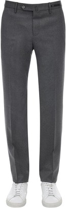 Pantaloni Torino Stretch Virgin Wool Blend Flannel Pants