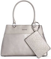 Calvin Klein Novelty Farra Tote with Wristlet