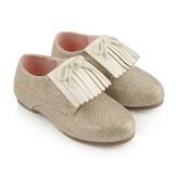 Billieblush BillieblushGold Fringed Shoes