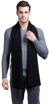 Fashion Land Ysiop Mens Australian Wool Solid Scarf and Knit Neck Scarves for Winter