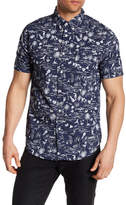 Trunks Allover Beachlife Print Shirt