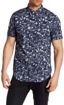 Trunks Allover Beachlife Print Shirt