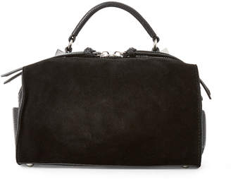 Hudson Moda Luxe Black Satchel