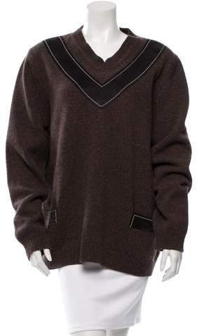 Derek Lam Wool V-Neck Sweater w/ Tags