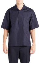 Marni Men's Short Sleeve Half Placket Shirt