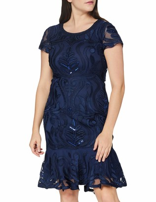 Gina Bacconi Women's Liori Embroidered Dress Cocktail