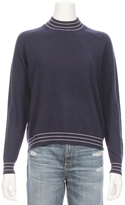 27 MILES Glenna Stripe Mock Neck Sweater