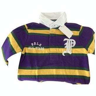 Polo Ralph Lauren Purple Cotton Knitwear