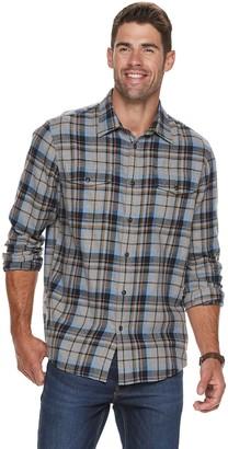Sonoma Goods For Life Men's Super Soft Flannel Button-Down Shirt