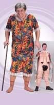 Fun World Costumes FunWorld Men's Groppin Granny Costume