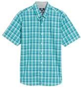 Cutter & Buck Tobias Non-Iron Plaid Woven Shirt