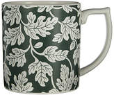 Spode Ruskin House Oak Leaf Mug, White / Green