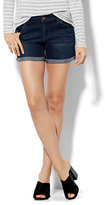 """New York & Co. Soho Jeans - Bowery 4"""" Short - Highland Blue Wash"""
