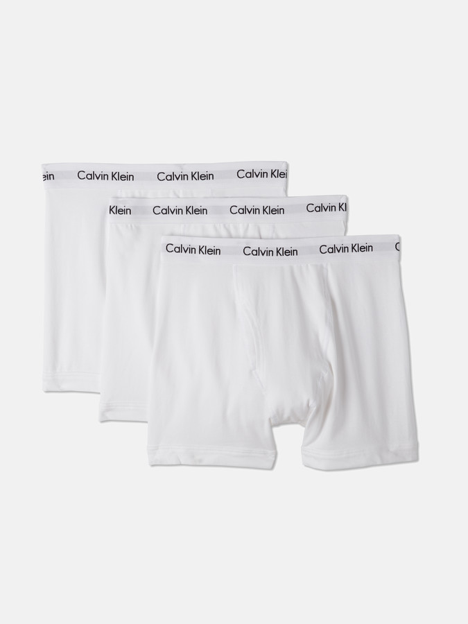 Calvin Klein Underwear 3-Pack Cotton Stretch Boxer Brief Underwear