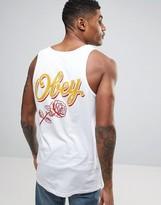 Obey Rose Logo Vest